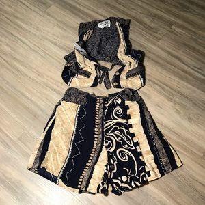 UN DEUX TROIS KIDS two piece outfit